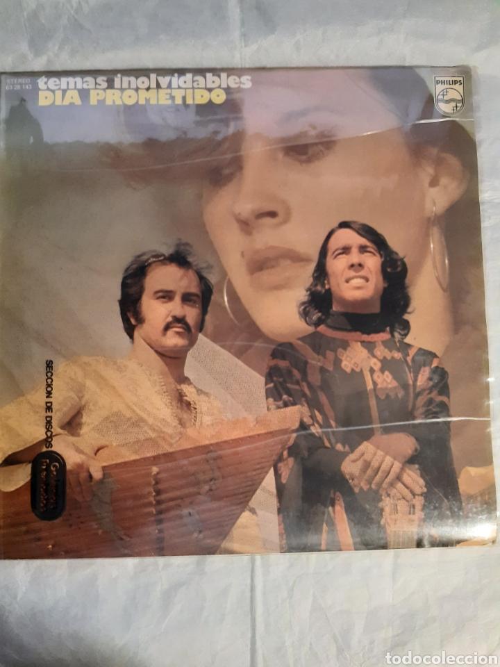 LP TEMAS INOLVIDABLES DIA PROMETIDO NUEVO (Música - Discos - LP Vinilo - Grupos Españoles de los 70 y 80)