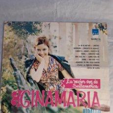 Discos de vinilo: LP GINAMARIA LA MEJOR VOZ DE SUDAMERICA NUEVO. Lote 244437590