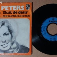 Discos de vinilo: CISKA PETERS / JELSKEDIJE / SINGLE 7 PULGADAS. Lote 244442450