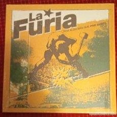 Discos de vinilo: LA FURIA POR ALGO MÁS QUE POR GUSTO LP VINILO COMO NUEVO THE CLASH PUNK. Lote 244443500