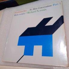 Discos de vinilo: FREEFORM FIVE - NO MORE CONVERSATIONS (PART. 1). Lote 244445125