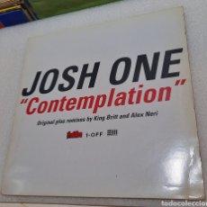 Discos de vinilo: JOSH ONE - CONTEMPLATION. DOBLE MAXI. Lote 244447050