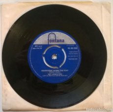 Discos de vinilo: ROY HAMILTON. SOMEWHERE ALONG THE WAY/ I NEED YOUR LOVIN. FONTANA, UK 1959 SINGLE. Lote 244449140