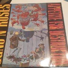 Disques de vinyle: LP GUNS N' ROSES APPETITE FOR DESTRUCTION. Lote 244451620