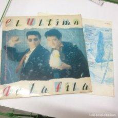 Discos de vinilo: EL ULTIMO DE LA FILA - NUEVO PEQUEÑO CATALOGO DE SERES Y ESTARES LP 1990. Lote 244455065