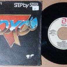 Discos de vinilo: KOXO / STEP BY STEP / SINGLE 7 PULGADAS. Lote 244458760