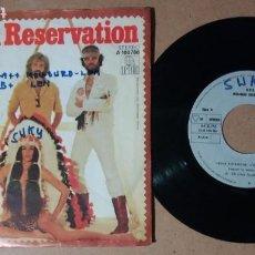 Discos de vinilo: ORS ORLANDO RIVA SOUND / INDIAN RESERVATION / SINGLE 7 PULGADAS. Lote 244466345