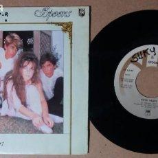 Discos de vinilo: SPOONS / NOVA HEART / SINGLE 7 PULGADAS. Lote 244466605