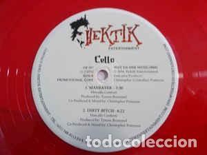 Discos de vinilo: Cello – Up In Da Club/What I Want/Maneater/Dirty Bitch EP VINILO ROJO - Foto 2 - 244477905
