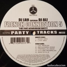 Discos de vinilo: DJ LBR FEATURING DJ ALI ‎– FRENCH CONNECTION VOL. 5. Lote 244478040