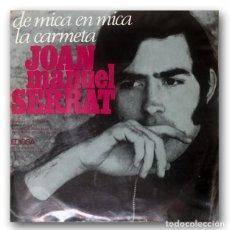 Discos de vinilo: JOAN MANUEL SERRAT - DE MICA EN MICA. Lote 244482215