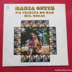 Discos de vinilo: DISCIO SINGLE. ´N´A VEIRIÑA DO MAR´. MARÍA OSTIZ. 1970.. Lote 244486345