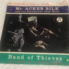 Discos de vinilo: EP MR ACKER BILK AND HIS PARAMOUNT JAZZ BAND - COLUMBIA SEG8178 -PEDIDOS MINIMO 7€. Lote 244487695