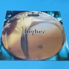 """Discos de vinilo: DISCO DE VINILO - """"HIGHER"""" - PRINCETON - TIBI DJ.. Lote 244493410"""