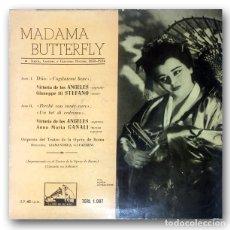 Discos de vinilo: PUCCINI, VICTORIA DE LOS ANGELES, GIUSEPPE DI STEFANO, ANNA MARIA CANALI – MADAMA BUTTERFLY. Lote 244493435