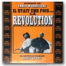 Discos de vinilo: ENNIO MORRICONE - LA REVOLUTION. Lote 244495550