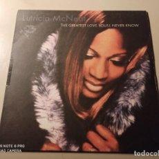 """Discos de vinilo: LUTRICIA MCNEAL - THE GREATEST LOVE (12""""). Lote 244496135"""