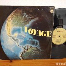 Discos de vinilo: LP VOYAGE - FROM EAST TO WEST - NOVOLA (1978). Lote 244499905