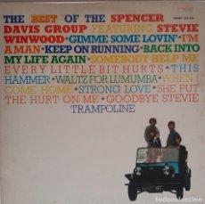Discos de vinilo: THE BEST O SPENCER DAVIS GROUP. ED. INGLESA. Lote 244508750