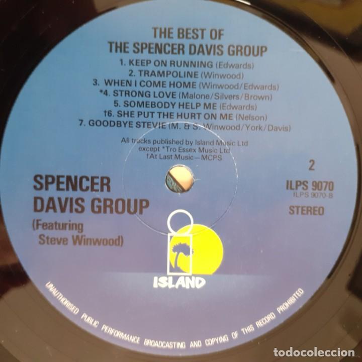 Discos de vinilo: THE BEST O SPENCER DAVIS GROUP. ED. INGLESA - Foto 4 - 244508750