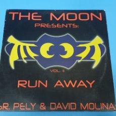 Discos de vinilo: DISCO DE VINILO - THE MOON PRESENTS: RUN AWAY - VOL. II - SR. PELY & DAVID MOLINA. Lote 244509815