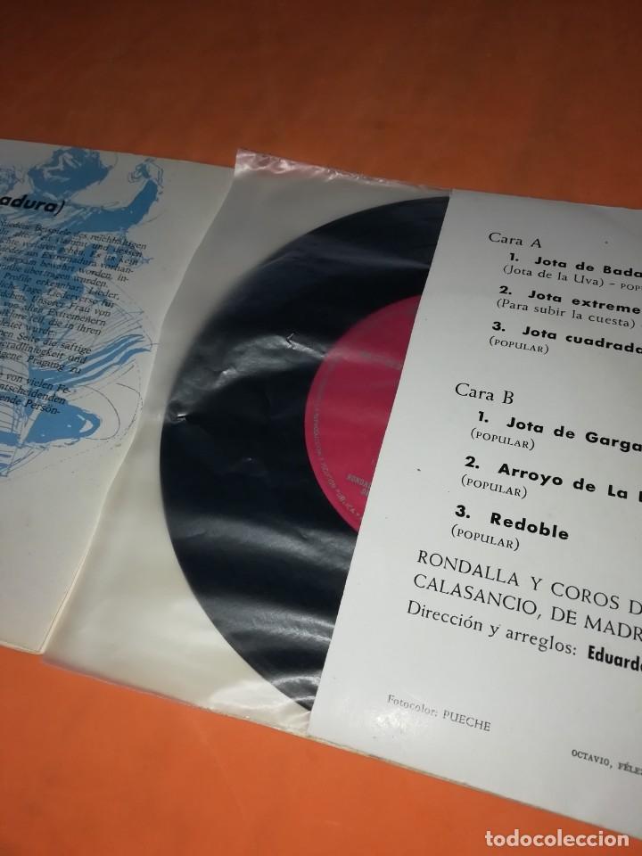 Discos de vinilo: CANTOS DE XTREMADURA. ZAFIRO 1964. CON LIBRETO. - Foto 4 - 244510105