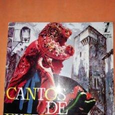 Discos de vinilo: CANTOS DE EXTREMADURA. ZAFIRO 1964. CON LIBRETO.. Lote 244510105