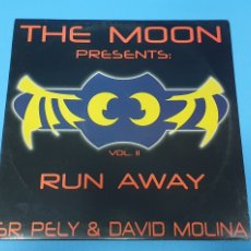 Discos de vinilo: DISCO DE VINILO - THE MOON PRESENTS: RUN AWAY - VOL. II - SR. PELY & DAVID MOLINA. Lote 244511460