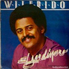 Discos de vinilo: WILFRIDO VARGAS Y SU ORQUESTA. EL JARDINERO. MAXISINGLE ESPAÑA 2 TEMAS.. Lote 244512025