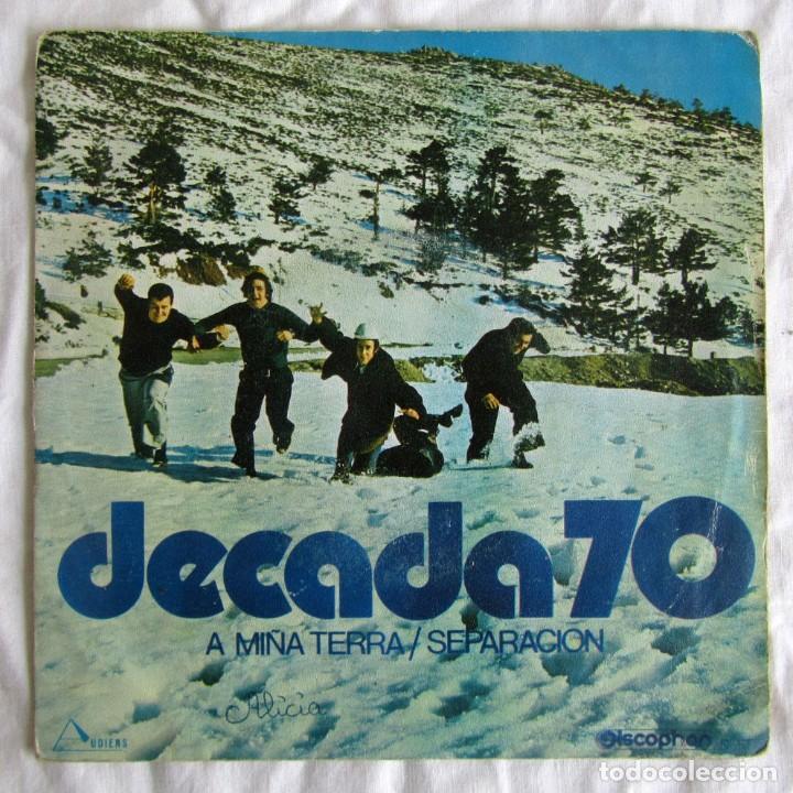 SINGLE VINILO DECADA 70 A MIÑA TERRA, SEPARACIÓN (Música - Discos - Singles Vinilo - Grupos Españoles de los 70 y 80)