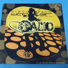 Discos de vinilo: DISCO DE VINILO - SPACIO FEAT. RAFA RUIZ DANCER. Lote 244519250