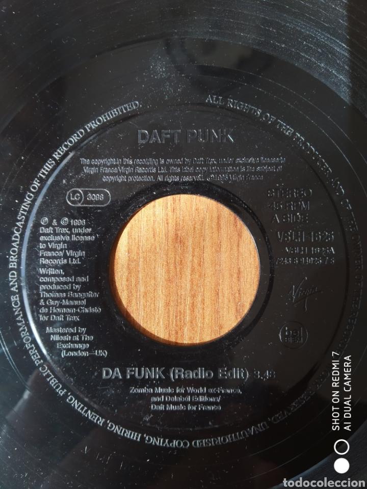 """DAFT PUNK,DA FUNK 7"""" UK JUXEBOX VERSION (Música - Discos - Singles Vinilo - Electrónica, Avantgarde y Experimental)"""