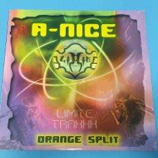 Discos de vinilo: DISCO DE VINILO - A-NICE - ORANGE SPLIT. Lote 244520795