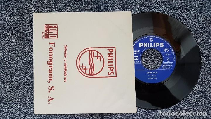 Discos de vinilo: Miguel Rios - Tu si tienes angel - single año 1.965 Editado por Philips. - Foto 5 - 186173470