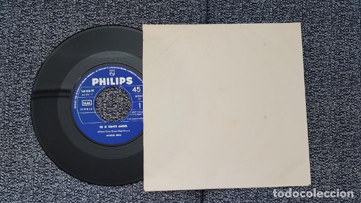 Discos de vinilo: Miguel Rios - Tu si tienes angel - single año 1.965 Editado por Philips. - Foto 6 - 186173470