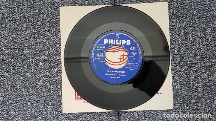 Discos de vinilo: Miguel Rios - Tu si tienes angel - single año 1.965 Editado por Philips. - Foto 7 - 186173470