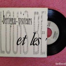 Discos de vinilo: SINGLE LOUIS BERTIGNAC ET LES VISITEURS - CES IDÉES-LÀ - P 1320989 - SPAIN PRESS (EX/NM). Lote 244526905