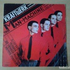 Discos de vinilo: KRAFTWERK -THE MAN MACHINE- LP CAPITOL 1978 ED. ESPAÑOLA 10C 068-085444 MUY BUENAS CONDICIONES. Lote 244527080