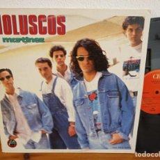 Discos de vinilo: MAXI-SINGLE LOS MOLUSCOS - MARTÍNEZ - CBS (1990). Lote 244527125