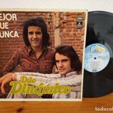 Discos de vinil: LP DÚO DINÁMICO - MEJOR QUE NUNCA - EMI (1972) - MUY RARO LP!! - PROMOCIONAL - LÁGRIMAS, SONRISAS. Lote 244530360