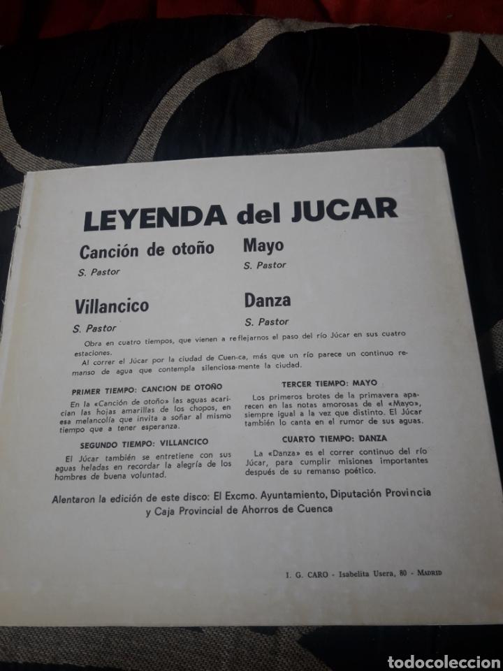 Discos de vinilo: Leyenda del Jucar para guitarra, vinilo - Foto 2 - 244530610
