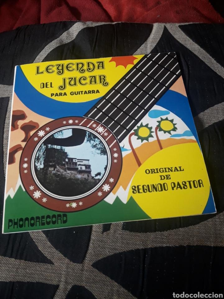 LEYENDA DEL JUCAR PARA GUITARRA, VINILO (Música - Discos de Vinilo - Maxi Singles - Cantautores Españoles)