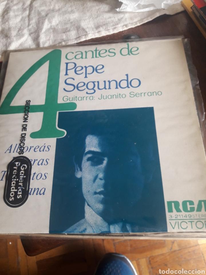 4 CANTES DE PEPE SEGUNDO, VINILO (Música - Discos de Vinilo - Maxi Singles - Flamenco, Canción española y Cuplé)