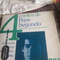 Discos de vinilo: 4 CANTES DE PEPE SEGUNDO, VINILO. Lote 244531400