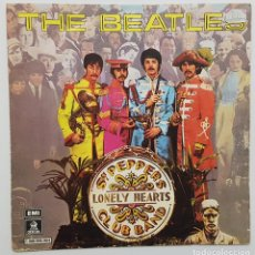 Discos de vinilo: THE BEATLES. SERGEANT PEPPER'S LONELY HEARTS CLUB BAND + WITHIN YOU WITHOUT YOU. 1978 SPAIN RARO. Lote 244533560