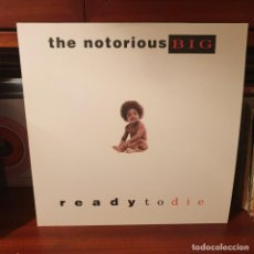 Discos de vinilo: NOTORIOUS BIG / READY TO DIE / NOT ON LABEL. Lote 244537105