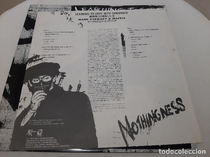Discos de vinilo: MARK STEWART AND THE MAFFIA -LEARNING TO COPE WITH COWARDICE- (1983) LP DISCO VINILO - Foto 5 - 244544830