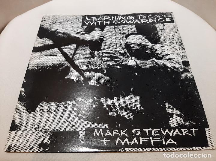 MARK STEWART AND THE MAFFIA -LEARNING TO COPE WITH COWARDICE- (1983) LP DISCO VINILO (Música - Discos - LP Vinilo - Reggae - Ska)