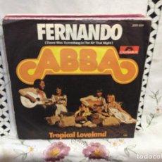 Discos de vinilo: ABBA - FERNANDO / 7' VINYL GERMANY 1975. VINILO: MINT / COVER: NEAR MINT. Lote 244545915