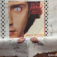 Discos de vinilo: JEAN-MICHEL JARRE - MAGNETIC FIELDS PART. 2 / 7' VINYL GERM. 1981 VINILO: NM / COVER: NM. Lote 244558460